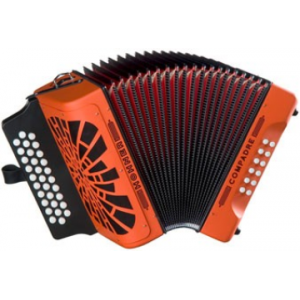 HOHNER EL REY DEL VALLENATO OR SOL/DO/FA