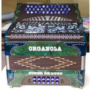 ORGANOLA SUPER DE LUXO CARBONO VERDE AZUL