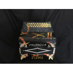 ORGANOLA SUPER DE LUXO PRETO/AMARELO DESIGN