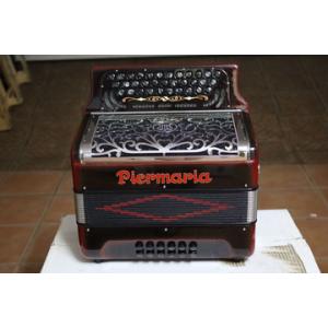 PIERMARIA PRETA/VERMELHA/CROMADA
