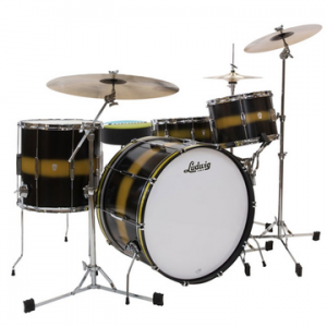 LUDWIG L6123LX CLUB DATE SUPER CLASSIC BLUE GOLD/DUCO