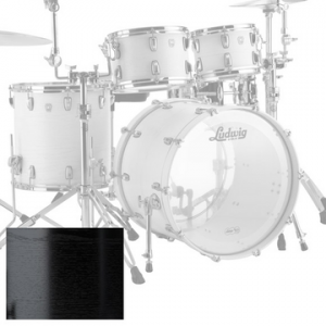 LUDWIG L7024AX KEYSTONE X BIG BEAT BLACK OAK