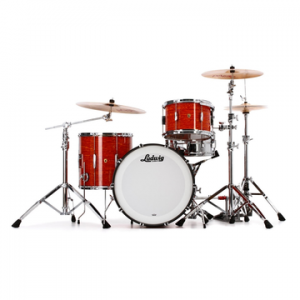 LUDWIG L7043AX KEYSTONE X PRO BEAT MOD ORANGE