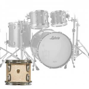 LUDWIG L88204AX CLASSIC MAPLE MOD VINTAGE WHITE MARINE