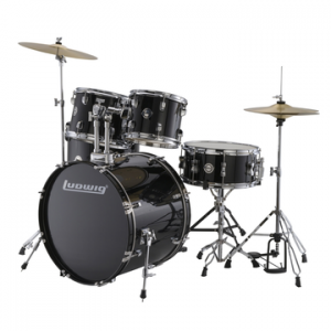 LUDWIG LC170 ACCENT FUSE BLACK CORTEX