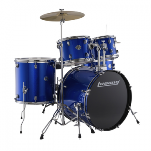 LUDWIG LC175 ACCENT DRIVE BLUE FOIL BATERIA