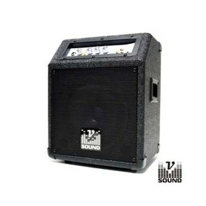 Vsound Conjunto de Som Amplif. C/ Bat. 50W USB/MP3 - CUBE30A