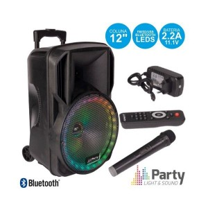 "Party Coluna Amplif. 12"" PARTY-12 RGB  700W"