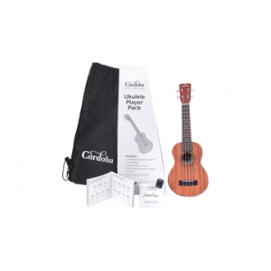 CÓRDOBA UP1S UKULELE SOPRANO PACK