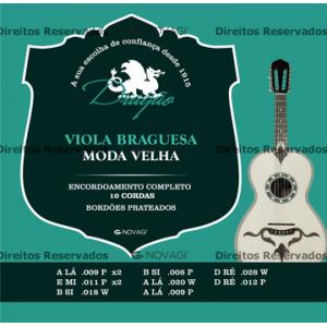 JOGO CORDAS BRAGUESA DRAGÃO MODA VELHA
