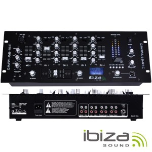 Ibiza Sound DJM95USB-REC Mesa Mistura