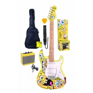 SPONGE BOB GUITAR PACK BLACK