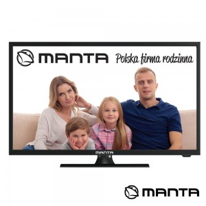 "TV LED 19"" HD HDMI USB  2X3W MANTA (19LHN120D)"